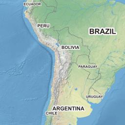 Fmap Demo Interactive D Map - Argentina 3d map